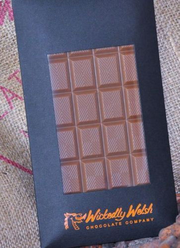 Wickedly Welsh Chocolate Bar - Milk Chocolate